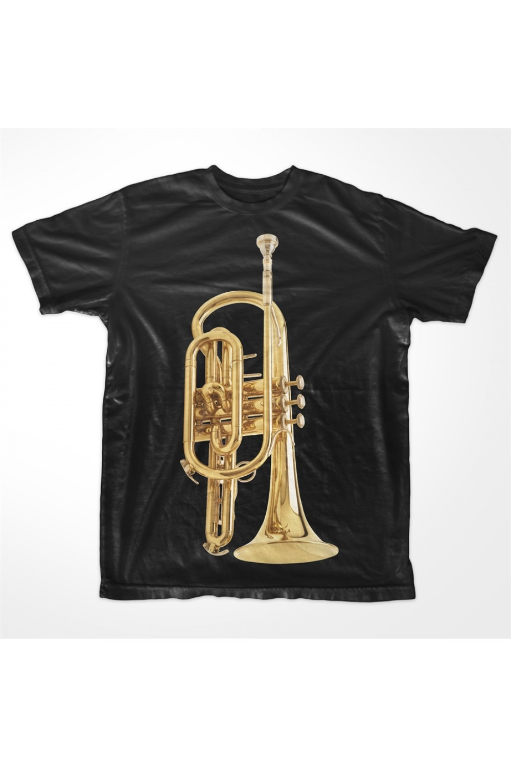 KABOX Men Printed T shirt Trumpet